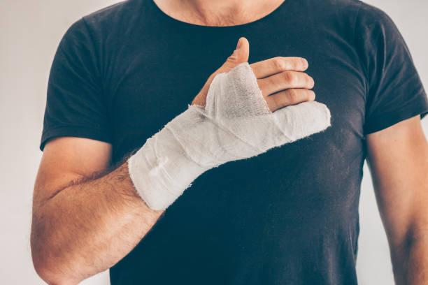 иммобилизация перелом пальца фото